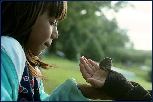 Cousins & Baby Bird (1994)