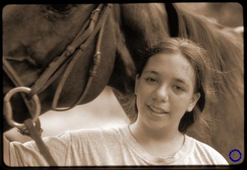 G23-1 Eliz & Horse (Fr. 37), 2004