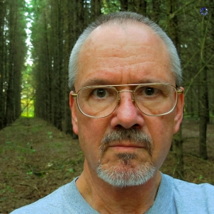 Bud G. made the photo in the woods in 2012; he took picture of his Levi's in 1982.