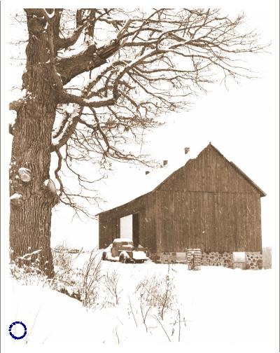 G11-3 Barn (Sepia), 1968