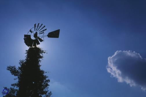 G22-1 Windmill (Blue), 2002