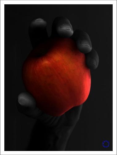 G25-2 Apple (Red & Black), 2003