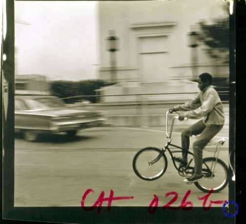 G12-6 Boy, Bike, Wheelie, 1969