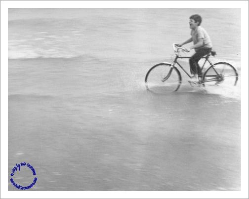 G03-4 Bike in Lake, 1969
