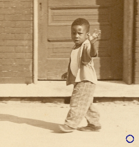 G12-5 Boy Waving, 1969