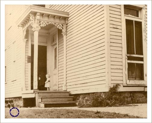 G03-5 Girl on Porch, 1970