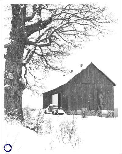 "G18-3 Barn & ""Ghost,"" 1968"